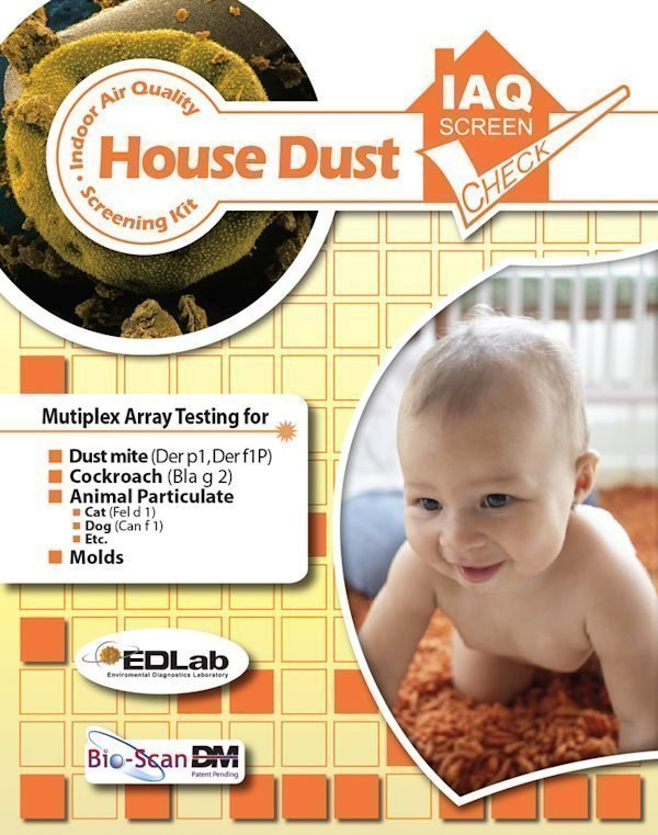 House Dust Test Kit - IAQ Screen Check - Indoor Air test