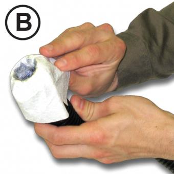 dust mite test kit step