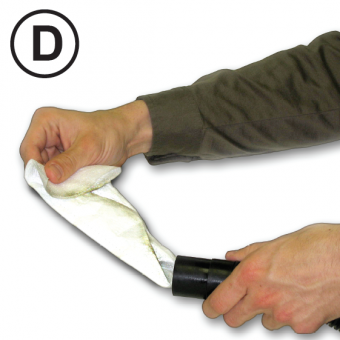 Dust mite detection kit step 4