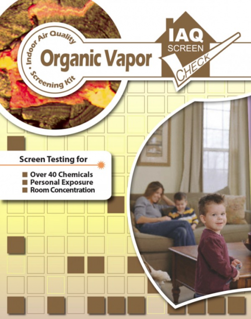 Organic Vapor Test Kit