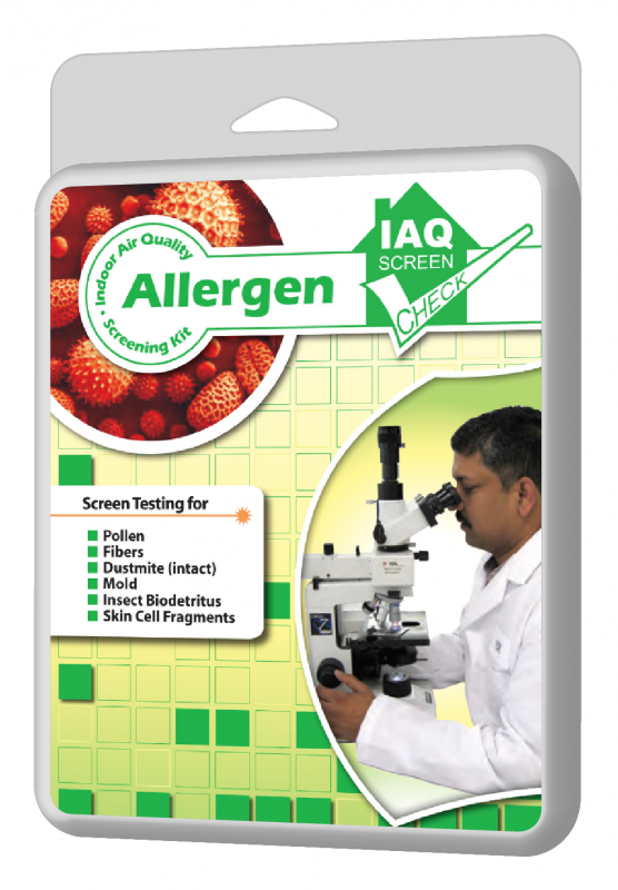 Allergen Test Kit - Home and Work - Indoor Environment