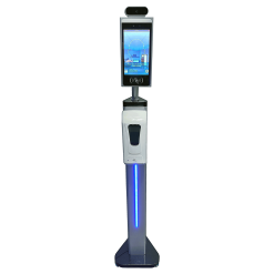 Free Standing Temperature Scanner with hand san