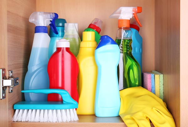 Cleaning Products and Indoor Air Quality Problem