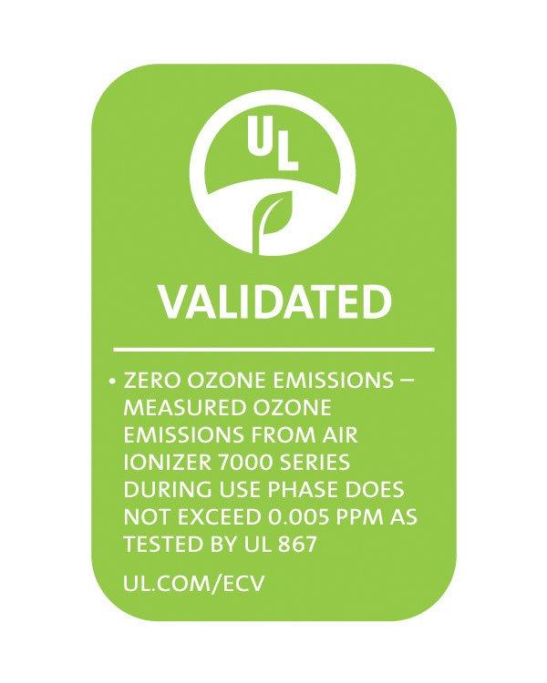 Plasma Air 7000 Series UL Validated UL867 and UL2998 Zero Ozone