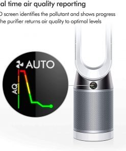Dyson TP04 Tower Pure Cool digital display